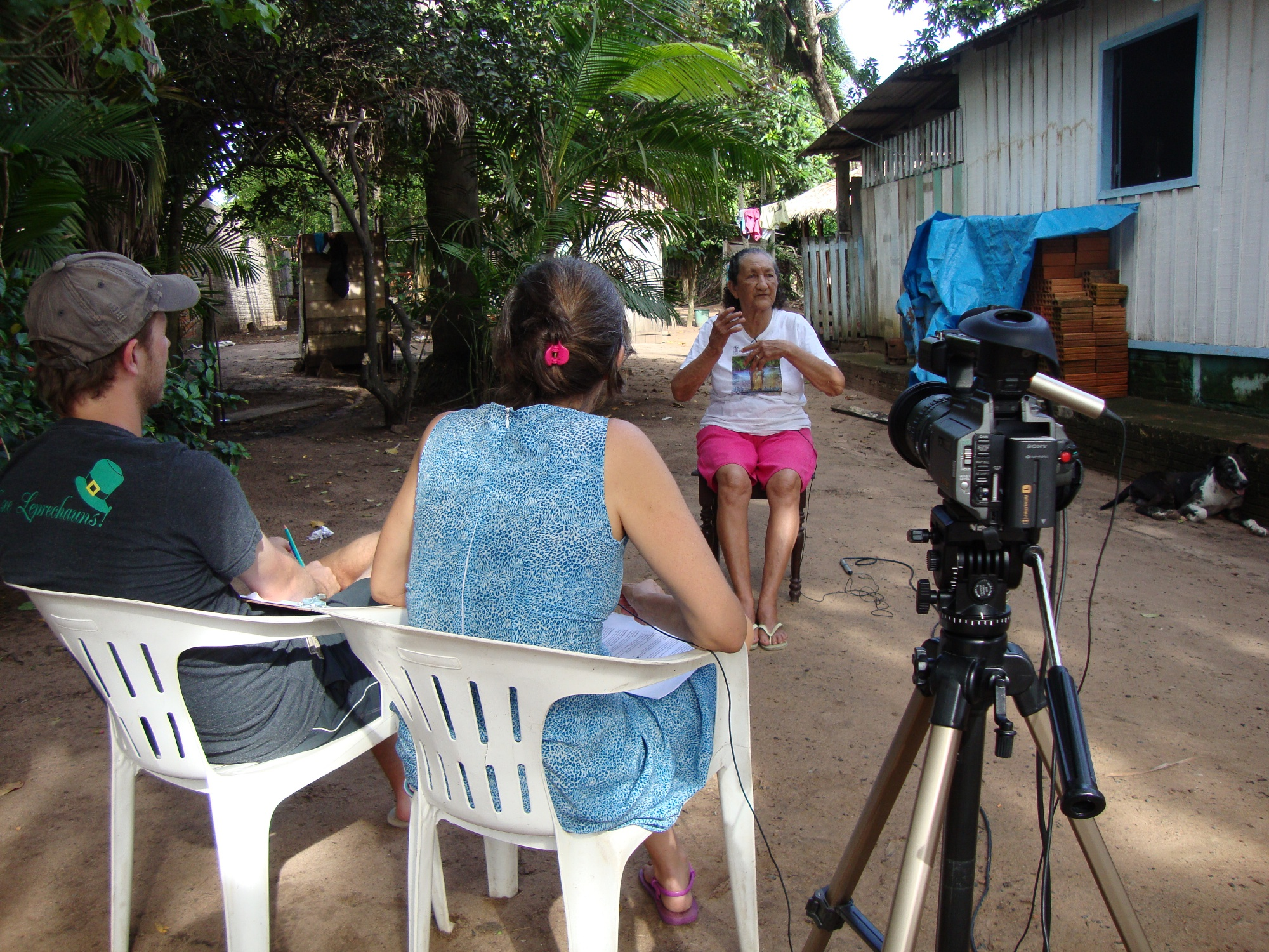 entrevista de moradora de comunidade noPara